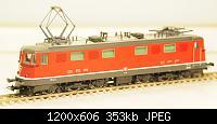 Нажмите на изображение для увеличения Название: Ae 6-6 SBB-CFF ROCO front.JPG Просмотров: 673 Размер:353.0 Кб ID:106497