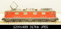 Нажмите на изображение для увеличения Название: Ae 6-6 SBB-CFF ROCO.JPG Просмотров: 766 Размер:317.5 Кб ID:106498