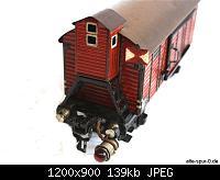 Нажмите на изображение для увеличения Название: 17910_maerklin_gueterwagen_2_achsig_rotbraun_bremserhaus_oben_schlusslicht.jpg Просмотров: 616 Размер:139.0 Кб ID:47140