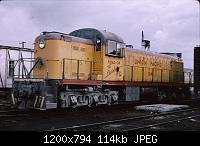 Нажмите на изображение для увеличения Название: RSC2 #1281, taken at Rawlins, WY, June 1965..jpg Просмотров: 585 Размер:113.8 Кб ID:159597